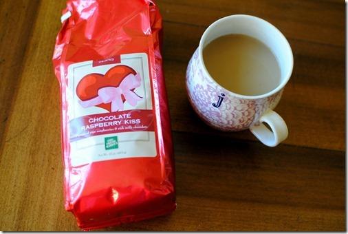 Chocolate Raspberry Kiss Coffee