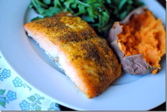 Garam Masala Salmon