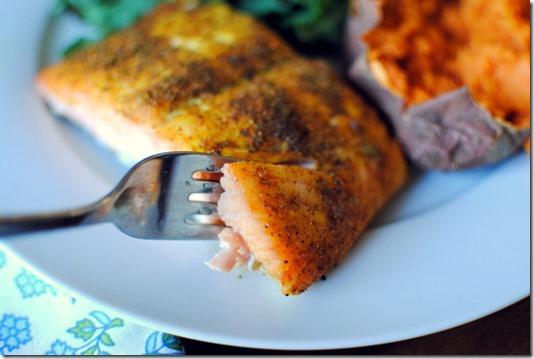 Recipe for Garam Masala Salmon