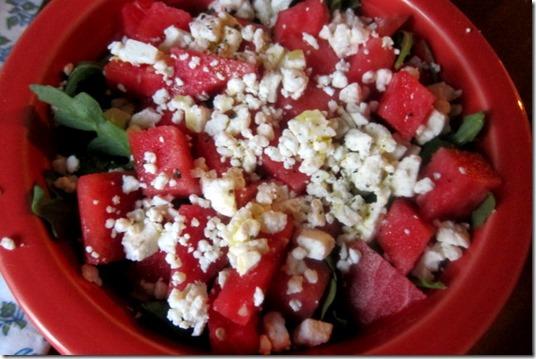 feta watermelon salad