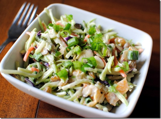 Asian Broccoli Crunch Salad