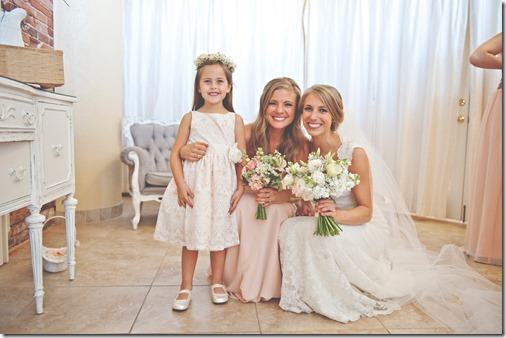 Bride Bridesmaid Flower Girl