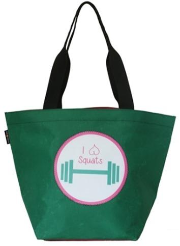 I Love Squats Gym Bag