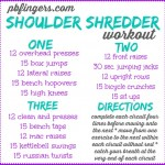 Shoulder Shredder Workout