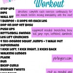 20 Minute Boot Camp Workout