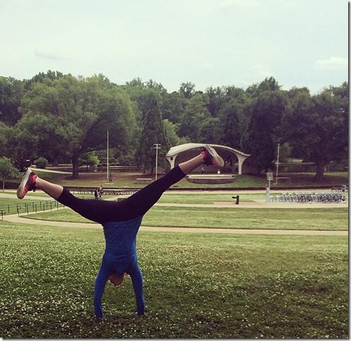 Cartwheel in Freedom Park