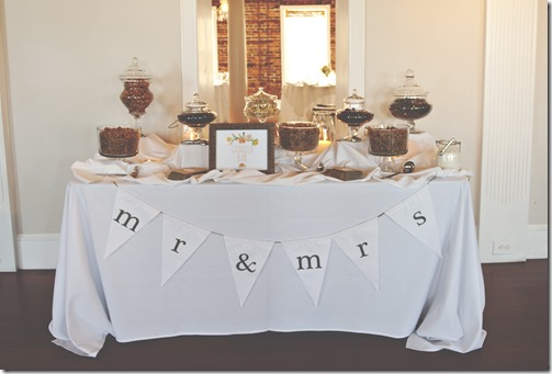Granola Bar Wedding Favors