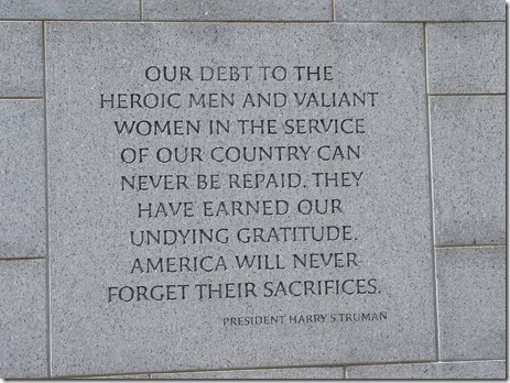 Memorial Day Quote - Harry Truman