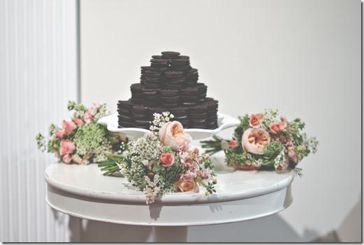 Oreo Tower Groom's Cake