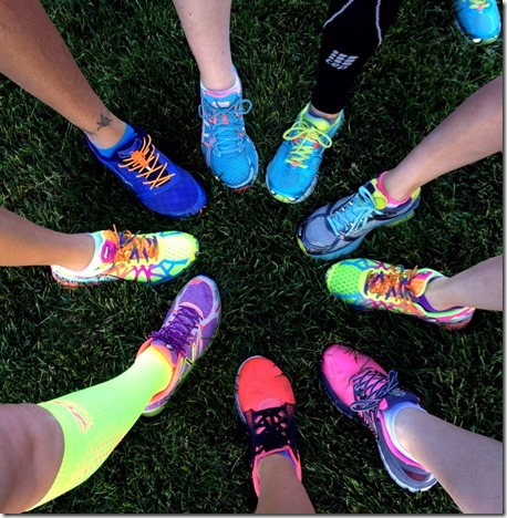 Bright Running Shoes