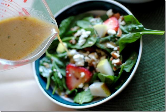 Easy Lemon Vinaigrette Salad Dressing