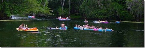 Ginnie Springs Tube