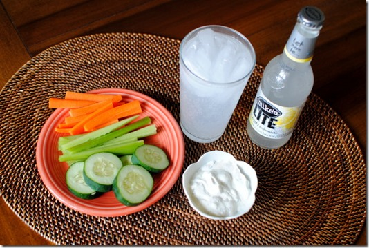 Greek Yogurt Veggie Dip