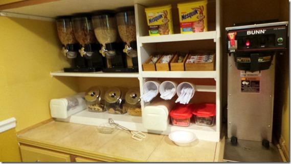 Hotel Cereal Breakfast