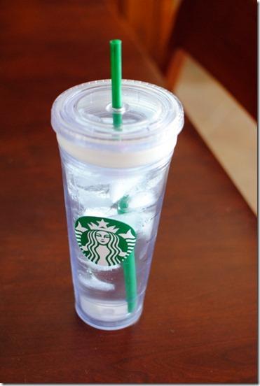Starbucks Water Tumbler