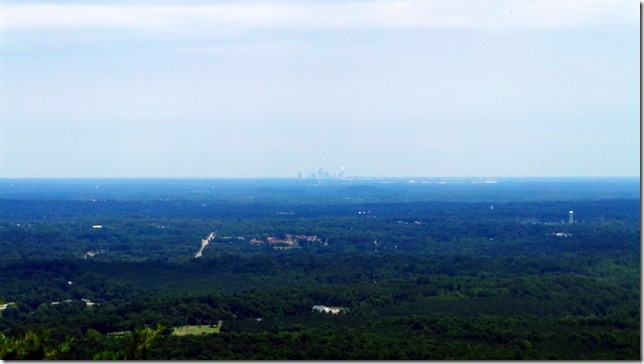 View From Crowders Mountain
