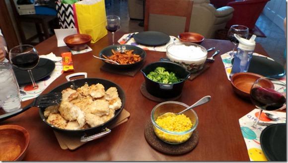 grouper dinner