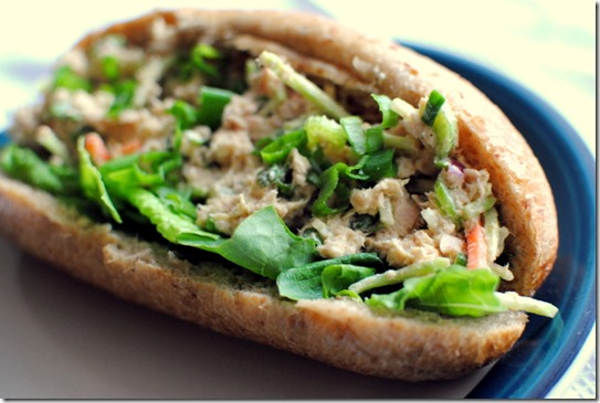 Curried Tuna Salad Sandwich