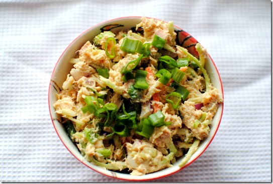 Healthy Curried Tuna Salad
