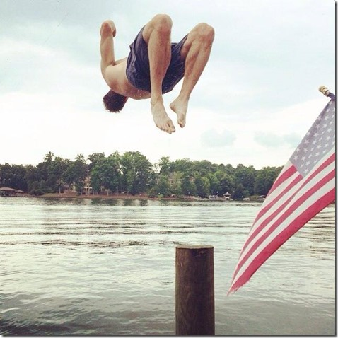 Lake Norman Backflip