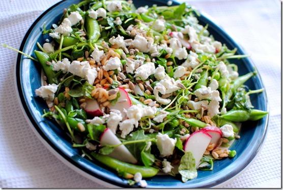 Pea Salad Blue Apron