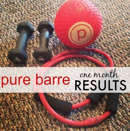 Pure Barre Results