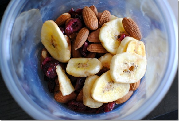 Trail Mix with Banana Chips