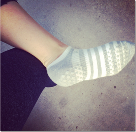 barre grippy socks