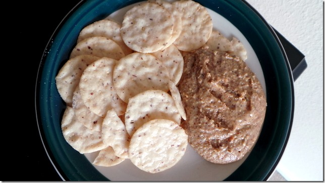 nut thins almond butter