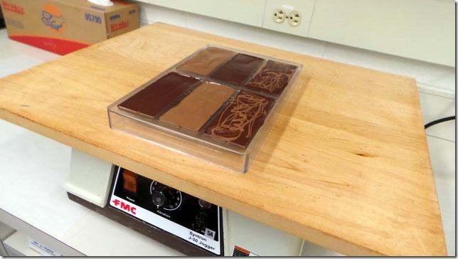 vibrating chocolate