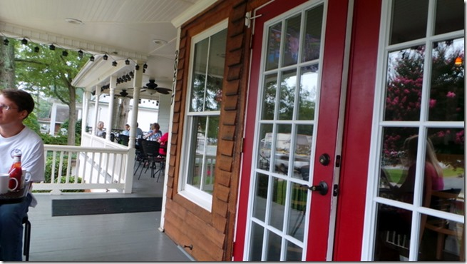 Fork porch