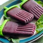 Grape Blueberry Mint Popsicles