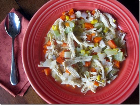 Homemade Chunky Chicken Soup