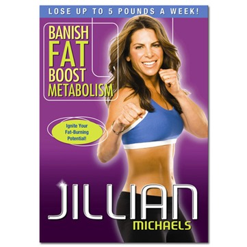 Jillian Michaels DVD Banish Fat Boost Metabolism
