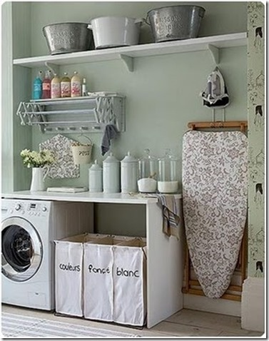 Laundry Room Teal