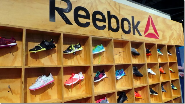 1a0a2f9f9447 Gina and I made sure to say hi to our friends at Reebok and spend some time  at their booth. Naturally we browsed around and I was pretty excited when I  ...
