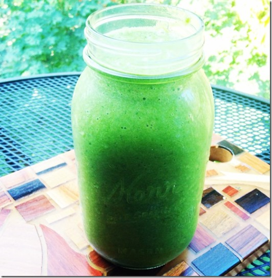 Coconut Water Green Smoothie