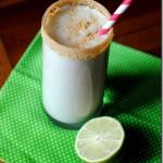 Key Lime Pie Cheesecake Protein Smoothie