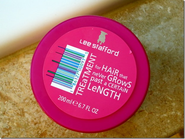 Lee Stafford For Hair That Never Grows Past a Certain Length