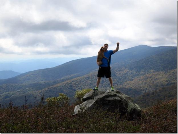 Vizsla Hiking