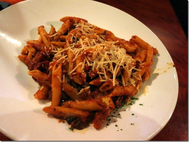 penne pasta red rocks cafe