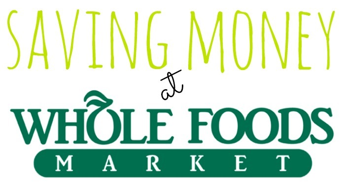 Tips for saving money at whole foods giveaway peanut for Whole foods fish on sale this week