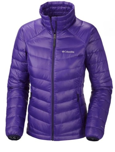 Columbia TurboDown Jacket purple