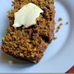 Maple Walnut Pumpkin Spice Bread