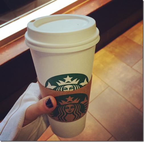 Starbucks Venti Cappuccino