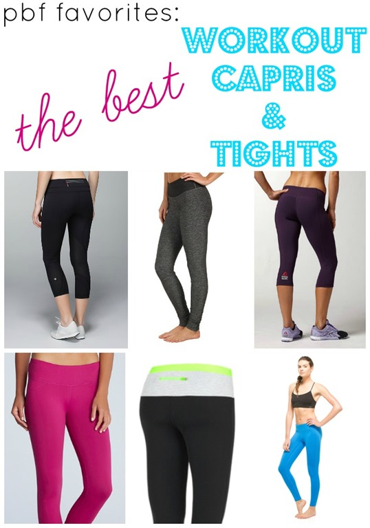 e1f7d44789a2e PBF Favorites: Workout Capris and Tights - Peanut Butter Fingers