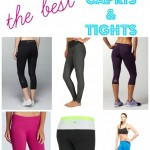 The BEST Workout Capris & Tights