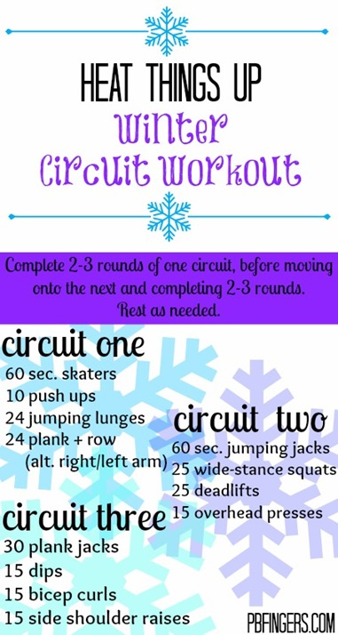 Winter Circuit Workout