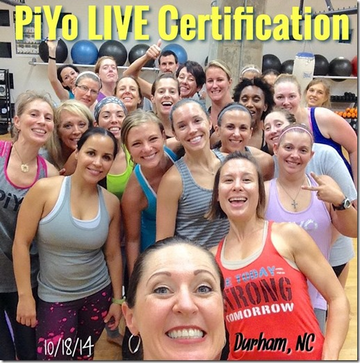 piyo certification training