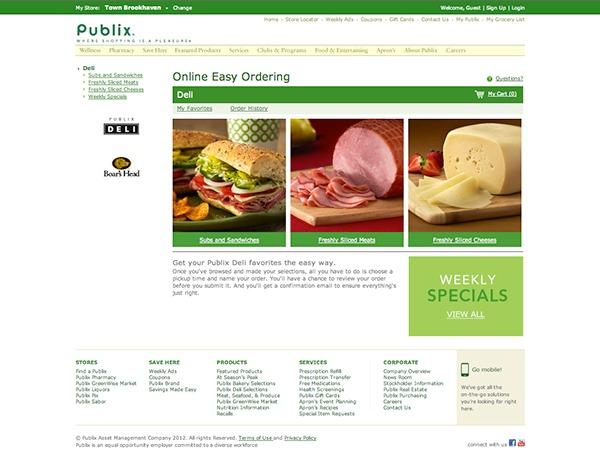 publix online ordering